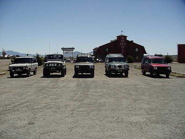 The line up in Sonoita.