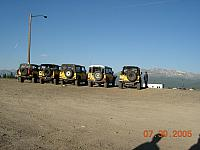 Yellow D-90 lineup at Leadville