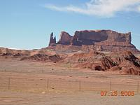Hoodoos on the road to Moab