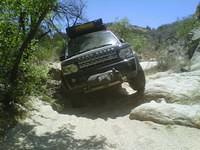 LR4 through the wash