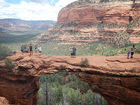 Sedona Trail Run, Devil's Bridge, Broken Arrow