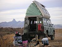 Camping in the Dormobile