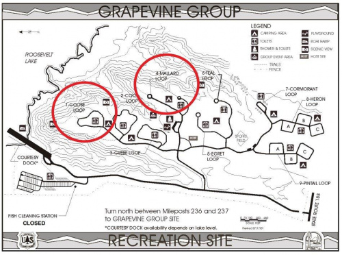 Grapevine Group: Mallard and Goose Loops