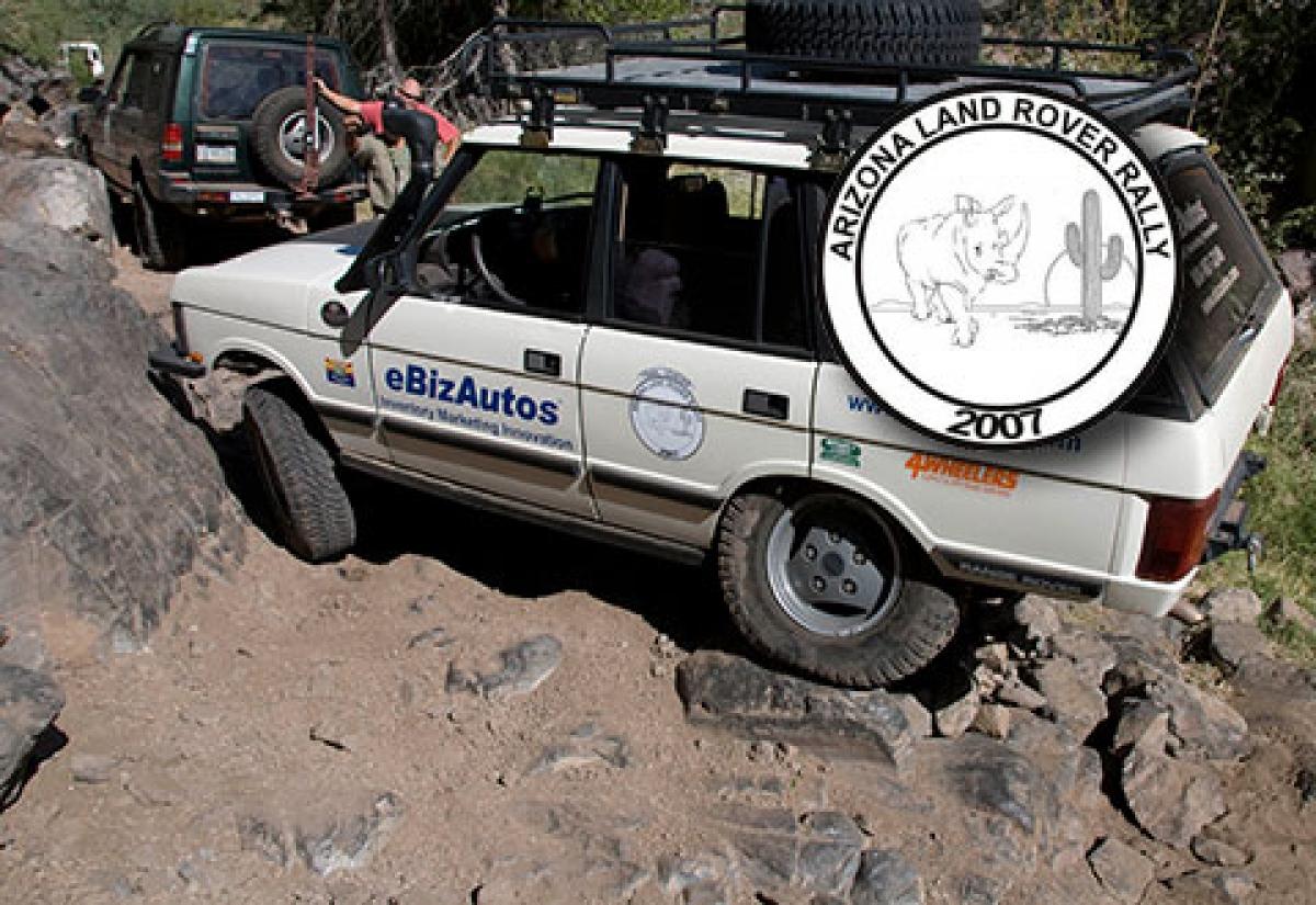 2007 Arizona Land Rover Rally