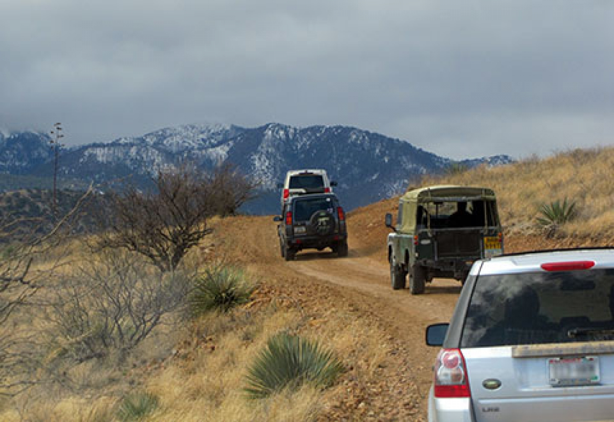 2010 Arizona Land Rover Rally
