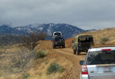 2010 Arizona Land Rover Rally