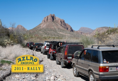 2011 Arizona Land Rover Rally