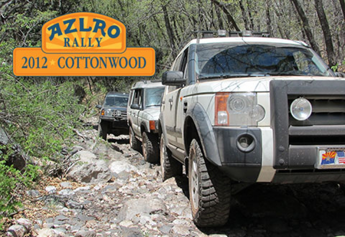 2012 Arizona Land Rover Rally