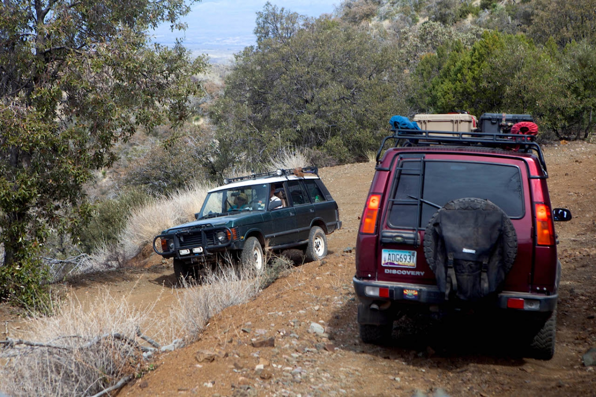 2013 Rally - Rice Canyon Trail Report