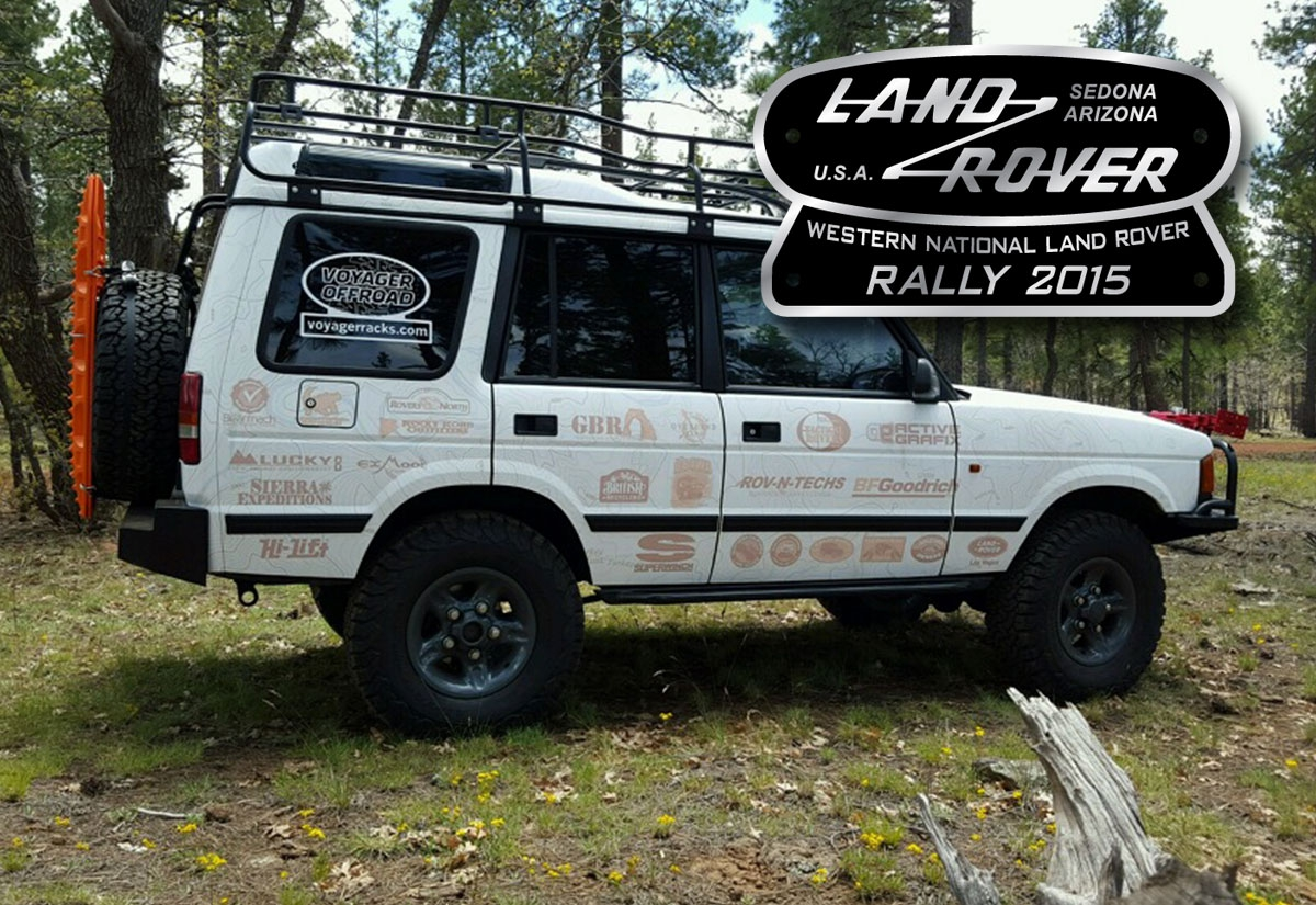 2015 Western National Land Rover Rally